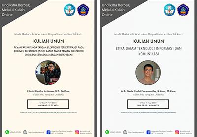 Tambah Wawasanmu: Ikuti Kuliah Umum Pemanfaatan Tanda Tangan Digital dan Etika dalam Teknologi Informasi Komunikasi